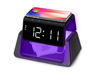 Alarm Clock Wireless Charger Sterilizer