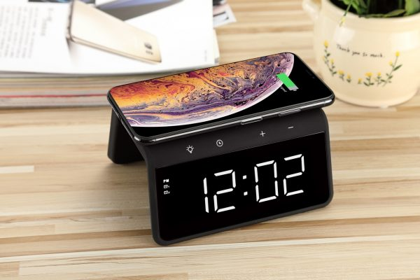 Wireless Charging Alarm Clock Melbourne