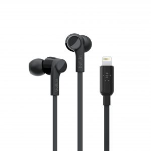 Headphones Belkin Black Lightning