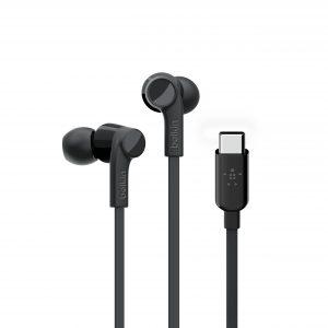 Headphones Belkin Black USB-C