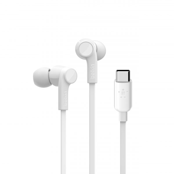 Headphones Belkin White USB-C
