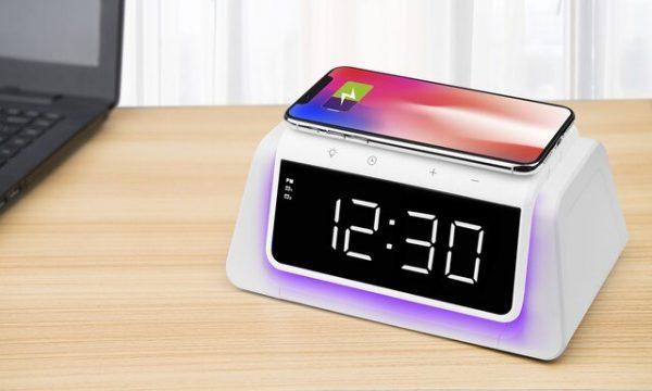 UV Steriliser Alarm Clock