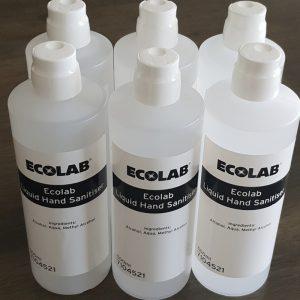 Liquid Hand Sanitiser EcoLab Melbourne