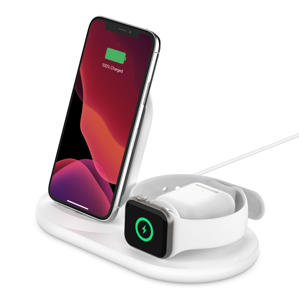 3 In 1 Wireless Charger Phone Watch Airpods